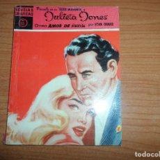 Tebeos: NOVELAS GRAFICAS JULIETA JONES Nº 18 SERIE MAGENTA EDITORIAL DOLAR. Lote 89520192