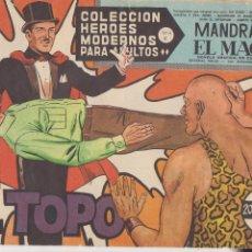 Tebeos: HÉROES MODERNOS. SERIE C Nº 74. MANDRAKE EL MAGO. . Lote 92182630