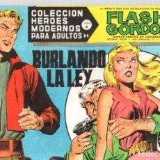 Livros de Banda Desenhada: FLASH GORDON. COLECCION HEROES MODERNOS. Nº 72B. BURLANDO LA LEY. AÑOS 60. Lote 95112455