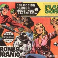 Livros de Banda Desenhada: FLASH GORDON. COLECCION HEROES MODERNOS. Nº 68B. LADRONES DE URANIO. AÑOS 60. Lote 95113443
