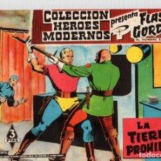 Livros de Banda Desenhada: FLASH GORDON Y EL HOMBRE ENMASCARADO. COLECCION HEROES MODERNOS. LA TIERRA PROHIBIDA. Nº 27. 3 PTAS. Lote 95117963