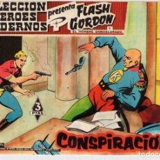 Livros de Banda Desenhada: FLASH GORDON Y EL HOMBRE ENMASCARADO. COLECCION HEROES MODERNOS. CONSPIRACION. Nº 26. 3 PTAS. Lote 95118207
