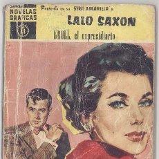 Tebeos: SERIE AMARILLA, LALO SAXON, Nº 44. Lote 127084294