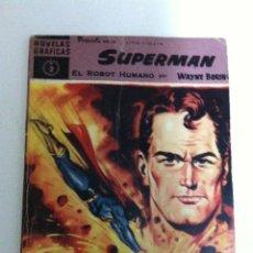 Tebeos: SUPERMAN - COLECCIÓN COMPLETA DE 18 EJEMPLARES. Lote 99463343