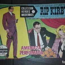 BDs: HEROES MODERNOS SERIE C. RIP KIRBY. 17 CÓMICS. Lote 101261167