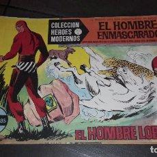 Tebeos: HEROES MODERNOS. SERIE A. EL HOMBRE ENMASCARADO. 20 PRIMEROS + 4. Lote 101265739