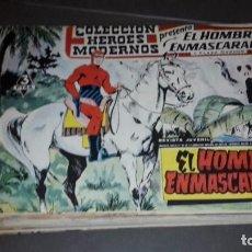 Tebeos: HEROES MODERNOS. EL HOMBRE ENMASCARADO (Y FLASH GORDON). COMPLETA 1 AL 40. Lote 101267199