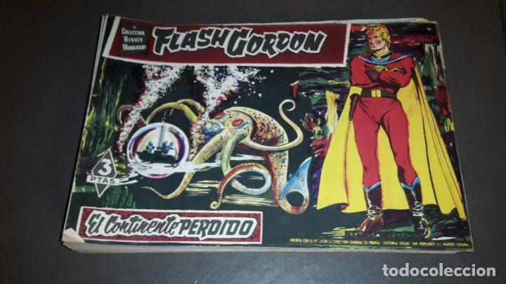 HEROES MODERNOS. FLASH GORDON. COMPLETA 1 AL 70 (Tebeos y Comics - Dólar)