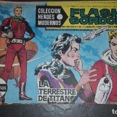 Tebeos: HEROES MODERNOS. SERIE B. FLASH GORDON 1 AL 19. Lote 101273963
