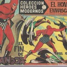 Tebeos: TEBEO. COLECCION HEROES MODERNOS. EL HOMBRE ENMASCARADO. SERIE A. Nº 20. EL FIN DE GANDOR. Lote 109343679