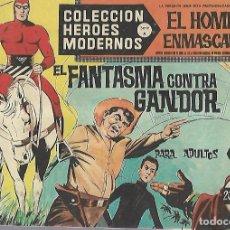 Tebeos: TEBEO. COLECCION HEROES MODERNOS. EL HOMBRE ENMASCARADO. SERIE A. Nº 19. EL FANTASMA CONTRA GANDOR. Lote 109343723