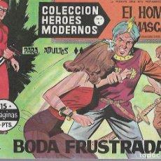 Tebeos: TEBEO. COLECCION HEROES MODERNOS. EL HOMBRE ENMASCARADO. SERIE A. Nº 15. BODA FRUSTADA. Lote 109344171