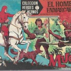 Tebeos: TEBEO. COLECCION HEROES MODERNOS. EL HOMBRE ENMASCARADO. SERIE A. Nº 6. MUGU. Lote 109345019