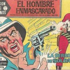 Tebeos: TEBEO. COLECCION HEROES MODERNOS. EL HOMBRE ENMASCARADO. SERIE A. Nº 3. LA DERROTA DE SOLDAN. Lote 109345163