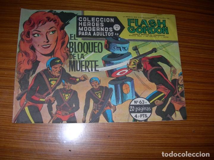 FLASH GORDON Nº 63 EDITA DOLAR (Tebeos y Comics - Dólar)