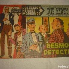 Tebeos: COLECCION HEROES MODERNOS N 35, RIP KIRBY. Lote 113112107