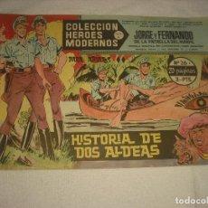 Tebeos: COLECCION HEROES MODERNOS N 26, JORGE Y FERNANDO. Lote 113114919