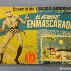 Tebeos: EL HOMBRE ENMASCARADO ALBUM DE LUJO Nº 9 AÑO 1959 DOLAR EN BUEN ESTADO ORIGINAL. Lote 113889967