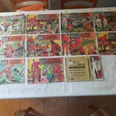 Tebeos: EL HOMBRE ENMASCARADO - LOTE DE 11 COMICS - EDITORIAL DOLAR - AÑOS 50-60. Lote 115191331