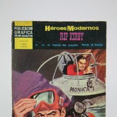 Tebeos: CÓMIC - RIP KIRBY / EL TESORO DEL GALEÓN - HÉROES MODERNOS Nº 22 - EDI. DOLAR - AÑOS 60. Lote 115203064