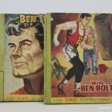 Tebeos: 2 TOMOS CÓMICS / ILUSTRADOS - BIG BEN BOLT / RETAPADOS - EDICIONES DOLAR - AÑO 1959. Lote 115207435