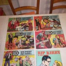 Tebeos: RIP KIRBY - LOTE DE 6 EJEMPLARES - DOLAR - AÑOS 50/60. Lote 115246695