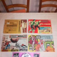 Tebeos: COLECCION HEROES MODERNOS - EDITORIAL DOLAR - AÑOS 50 - LOTE 5 COMICS. Lote 115255431