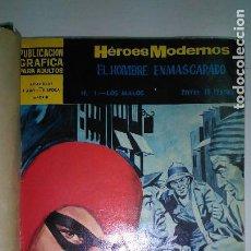 Tebeos: EL HOMBRE ENMASCARADO * HEROES MODERNOS * LOTE 6 Nº * EDITORIAL DOLAR * 1959. Lote 119389439