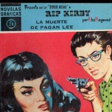 Tebeos: RIP KIRBY : LA MUERTE DE PAGAN LEE (DOLAR AZUL, Nº 26). Lote 119498439