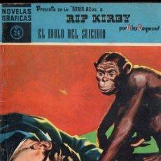 Tebeos: RIP KIRBY : EL IDOLO DEL SUICIDIO (DOLAR AZUL, Nº 24). Lote 119498499
