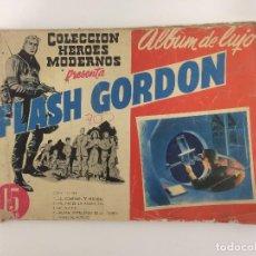 Tebeos: COMIC: FLASH GORDON - ALBUM DE LUJO, COLECCION DE HEROES MODERNOS - DOLAR 1959. Lote 119937879