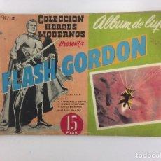 Tebeos: COMIC: FLASH GORDON - ALBUM DE LUJO, COLECCION DE HEROES MODERNOS - DOLAR 1959. Lote 119937979