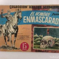 Tebeos: COMIC: EL HOMBRE ENMASCARADO - ALBUM DE LUJO, COLECCION DE HEROES MODERNOS - DOLAR 1959. Lote 119938215
