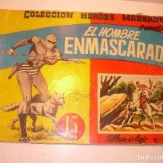 Tebeos: ALBUM DE LUJO....EL HOMBRE ENMASCARADO...EDIT. DOLAR AÑO 1958. Lote 120242463