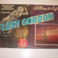 Tebeos: ALBUM DE LUJO....FLASH GORDON...EDIT. DOLAR AÑO 1958. Lote 120242739