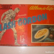 Tebeos: ALBUM DE LUJO....FLASH GORDON...EDIT. DOLAR AÑO 1958. Lote 120243131