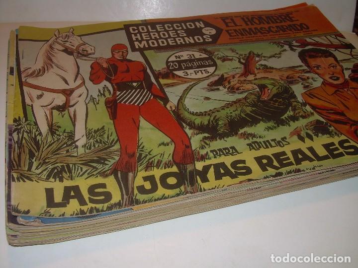 19 COMICS - TBOS.....EL HOMBRE ENMASCARADO.....EDIT. DOLAR. (Tebeos y Comics - Dólar)