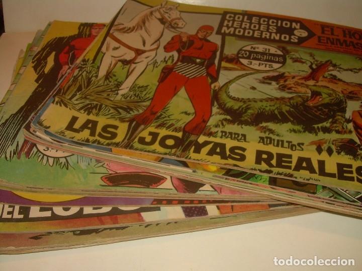 Tebeos: 19 COMICS - TBOS.....EL HOMBRE ENMASCARADO.....EDIT. DOLAR. - Foto 2 - 120250175