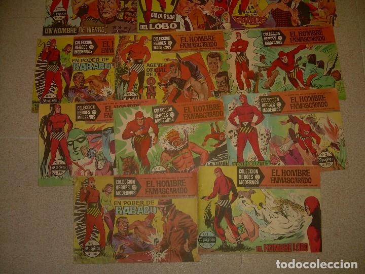 Tebeos: 19 COMICS - TBOS.....EL HOMBRE ENMASCARADO.....EDIT. DOLAR. - Foto 7 - 120250175