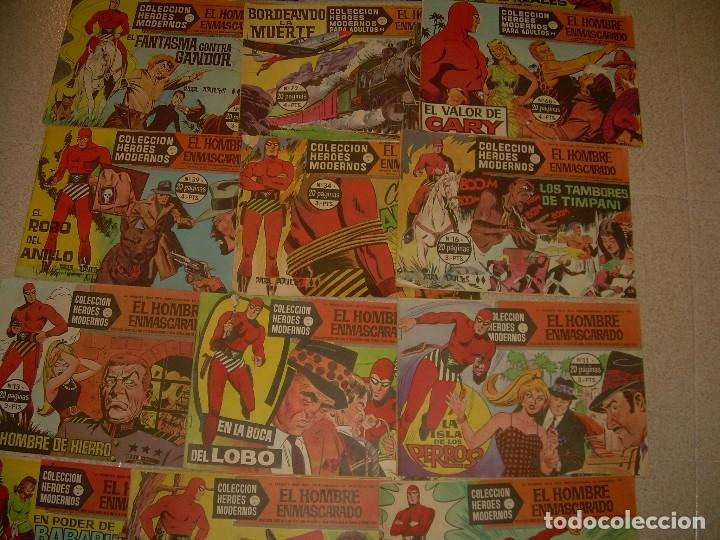 Tebeos: 19 COMICS - TBOS.....EL HOMBRE ENMASCARADO.....EDIT. DOLAR. - Foto 8 - 120250175
