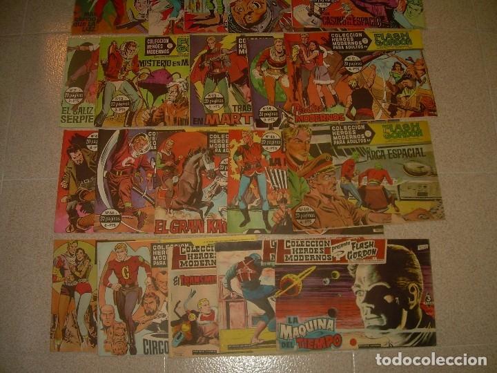 Tebeos: 80.. COMICS - TBOS.....FLASH GORDON...EDIT. DOLAR. - Foto 5 - 120250395