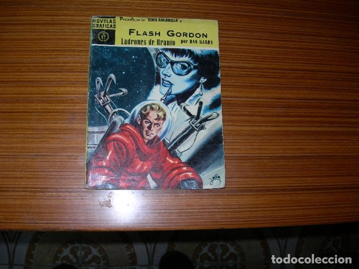 NOVELAS GRAFICAS SERIE AMARILLA FLASH GORDON Nº 17 EDITA DOLAR (Tebeos y Comics - Dólar)