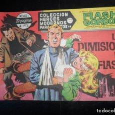 Tebeos: FLASH GORDON HEROES MODERNOS DOLAR SERIE B Nº 65 . Lote 120657047