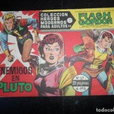 Tebeos: FLASH GORDON HEROES MODERNOS DOLAR SERIE B Nº 57. Lote 120657455