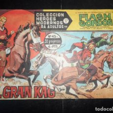 Tebeos: FLASH GORDON HEROES MODERNOS DOLAR SERIE B Nº 45. Lote 120657759