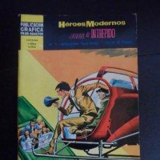 Tebeos: HEROES MODERNOS JUAN EL INTREPIDO Nº 7 - OPERACION SAN VITOS - EDITORIAL DOLAR 1966 . Lote 121670227