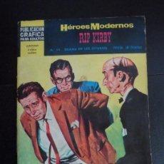 Tebeos: HEROES MODERNOS II ÉPOCA Nº 14 RIP KIRBY EDITORIAL DÓLAR . Lote 121670547