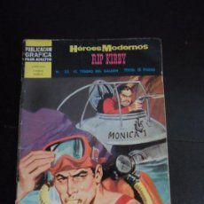 Tebeos: HEROES MODERNOS II ÉPOCA Nº 22 RIP KIRBY EDITORIAL DÓLAR . Lote 121670639
