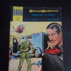 Tebeos: HEROES MODERNOS II ÉPOCA Nº 10 CON MANDRAKE, EDITORIAL DÓLAR . Lote 121670803