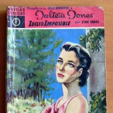 Tebeos: JULIETA JONES SERIE MAGENTA Nº 2 - EDITORIAL DÓLAR 1959. Lote 121778079